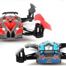 FPV Drone JXD 389 4CH 2.4GHz 6-Axis Gyro RC Quadcopter and car 2 IN 1 Remote control toys RTF