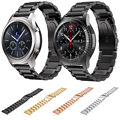 22mm Stainless Steel Strap For Samsung Gear S3 Band Replacement Wristbands For Gear S3 Classic Frontier Smart Watch Band