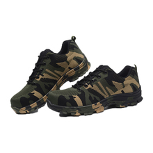 Men's Plus Size Outdoor Steel Toe Cap Military Work & Safety Boots