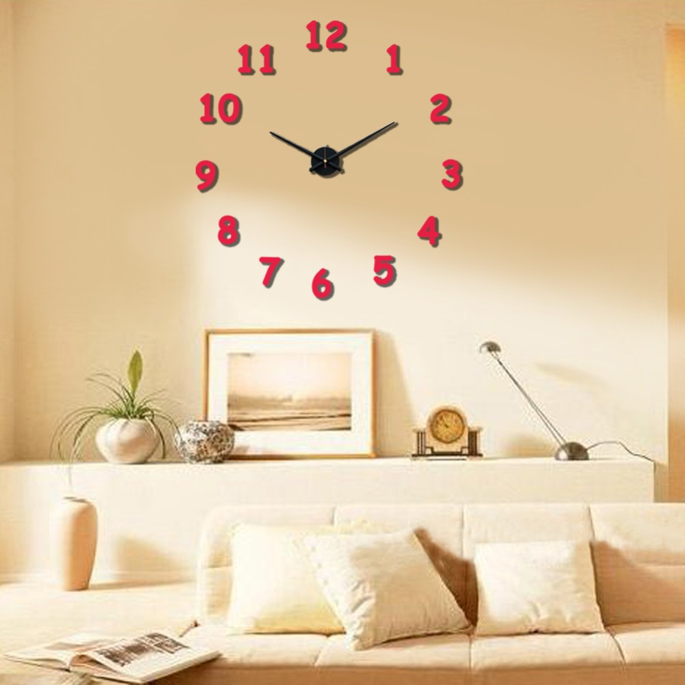 Dorable Large Wall Clock Decor Sketch - The Wall Art Decorations ...