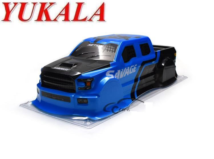 2018 Newest  PVC RC Truck Shell Body For 1/18 RC Truck Size 223*98*55mm Wheel Base 145mm
