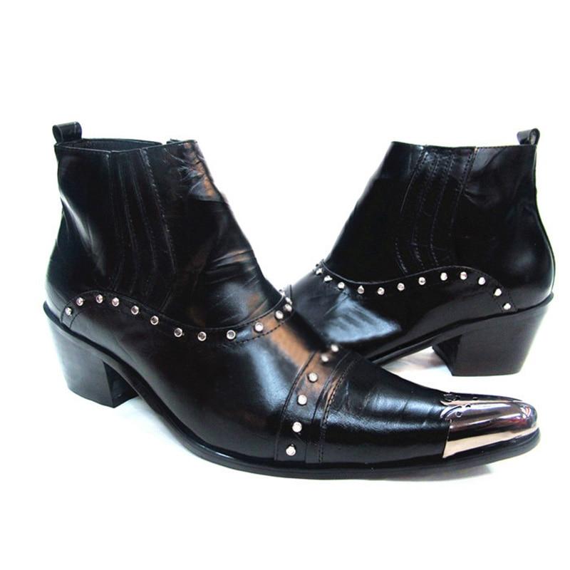 ITALIA 100% Brand New Limited Edition Martin sepatu pria sepatu bot - Sepatu Pria - Foto 4