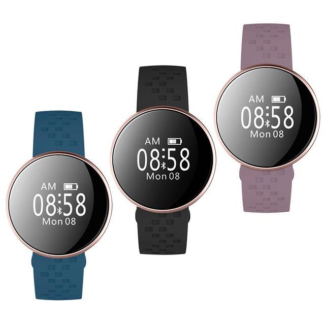 Original B16 de moda reloj inteligente mujeres fitness pulsera inteligente  IP67 de presión arterial Monitor de af8ca2d28bc2