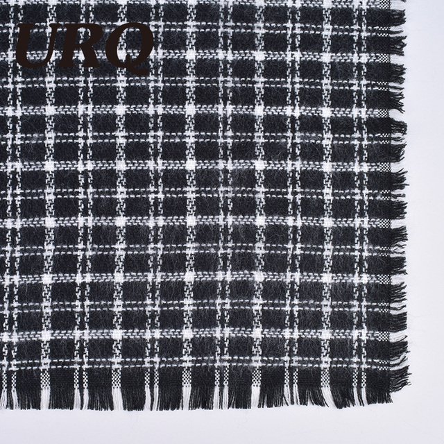 big size long plaid scarf for women winter warm scarves tartan for lady Acrylic wrap thicken brand design 2017 new
