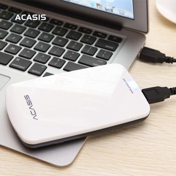 2.5 '' ACASIS Disco Rígido Externo Original HDD 160 GB / 250 GB / 320 GB / 500 GB de Armazenamento em Disco Portátil USB 2.0 Possui Interruptor de Energia À Venda 1