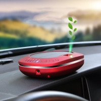 AU 1 Solar Car Air Purifier Intelligent Car Negative Ion Aroma Air Cleaner Ionizer Air Humidifier For Car Office