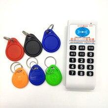 Copieur détiquette de carte RFID portable 125Khz 13.56MHZ, copieur, clone, lecteur, paquet de vente ou 20 pièces, clés ou 20 pièces 125KHz T5577