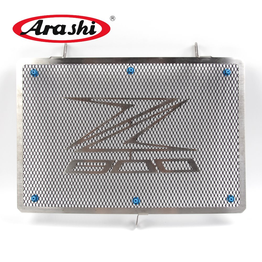 Arashi New Radiator Protector Grille For KAWASAKI Z800 Z 800 2013 2014 2015 Cooler Guard Cover Protective Shield Stainless Steel radiator protective cover grill guard grille protector for kawasaki versys 1000 2012 2013 2014 2015 2016