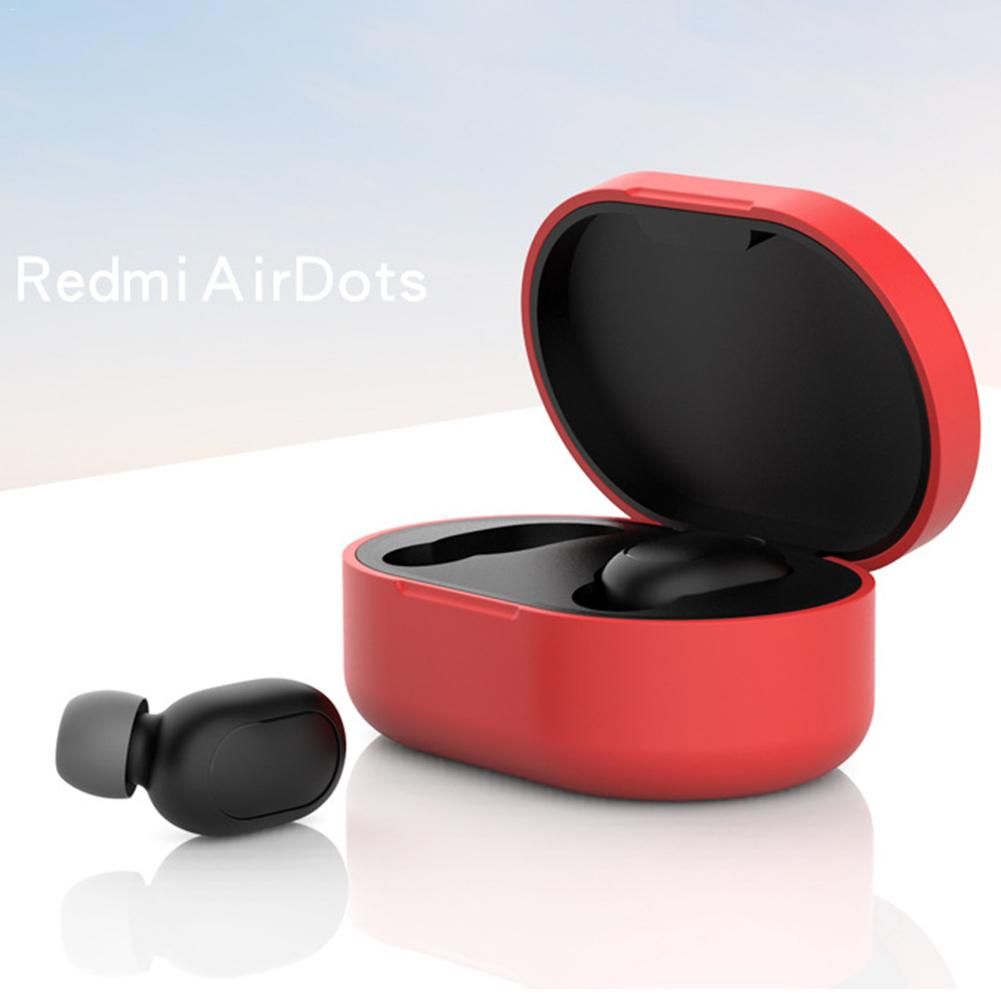 Image 4 - Anti Shock Comprehensive Protective Case Full Cover For Xiaomi Redmi Airdots TWS Bluetooth Earphone Youth Headset Accessories-in Earphone Accessories from Consumer Electronics
