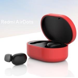 Image 4 - Anti Shock kompleksowy futerał ochronny pełne etui na xiaomi Redmi Airdots TWS słuchawki Bluetooth akcesoria do zestawu słuchawkowego dla młodzieży
