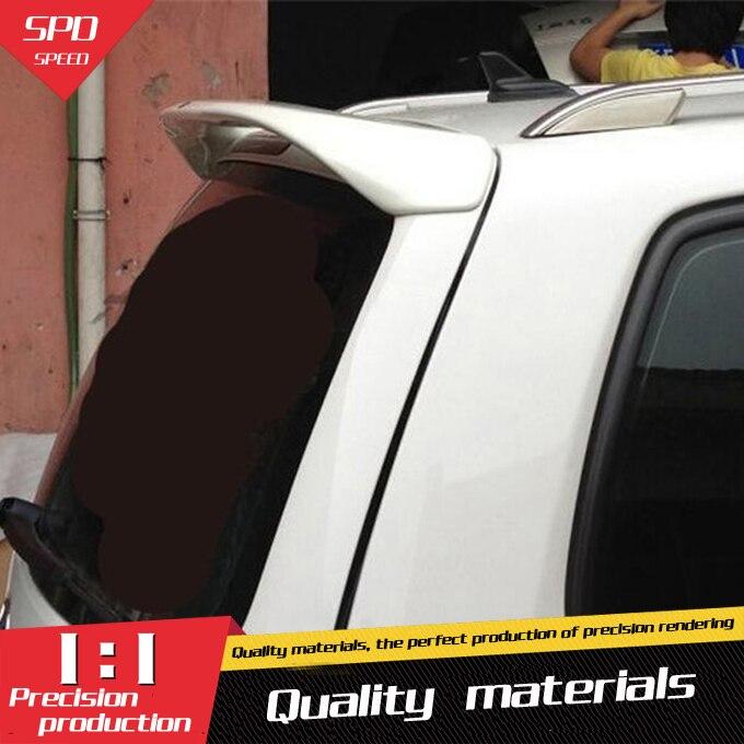 Для VW Touran спойлер высокого качества ABS Материал заднее крыло праймер цвет задний спойлер для Volkswagen Touran спойлер 2007 2013