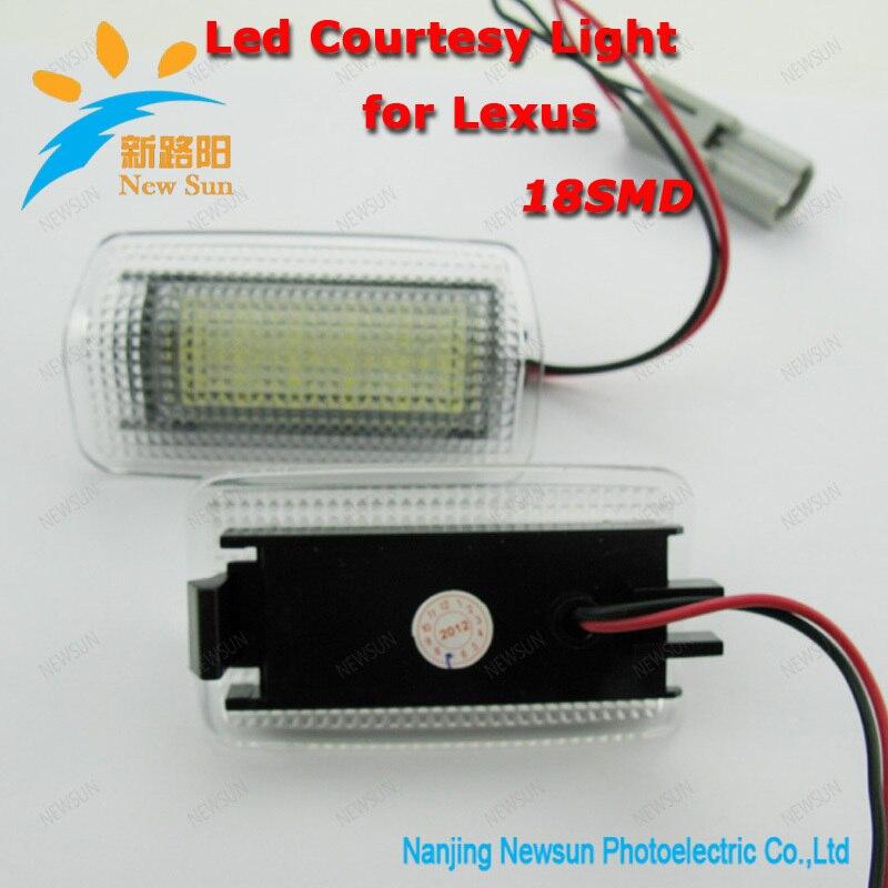LED courtesy light door lamp for Toyota Lexus IS250 IS350 IS-F ES300 ES330 ES350 super bright UNDER DOOR LAMPS golden eye drl led fog lights lamps for lexus lx570 rx350 awd rx450h awd es300h gs350 gs450h is f is250 is350 2008 2013