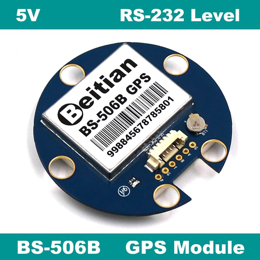 BEITIAN 1,25 мм 6 контактов разъем GPS модуль 5,0 V RS-232 9600bps уровень 4M вспышка
