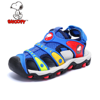 Snoopy Close Toe Girls Sandals For Beach Summer Boys Shoes Kids Sandals Casual Children Shoes Cut outs Sport Sandals For Toodle