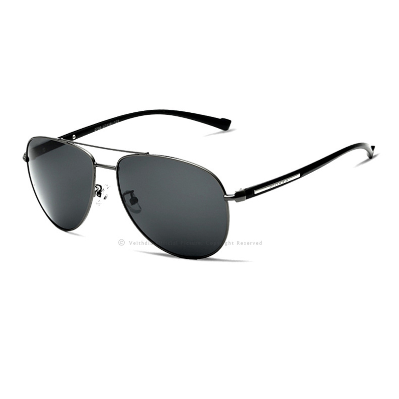 VEITHDIA Polarized Lens Sunglasses Vintage Men Pilot New Arrival Brand Designer Sun Glasses Gafas Oculos De Sol Masculino 2708
