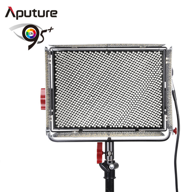 Aputure LS 1S High CRI 95+ Light Storm Studio Video Light LED Photo Light with 2.4GHz Wireless Remote V-mount Plate aputure amaran tri 8s daylight balanced dimmable led video light panel ez box diffuser kit batteries 2 4g remote control v mount
