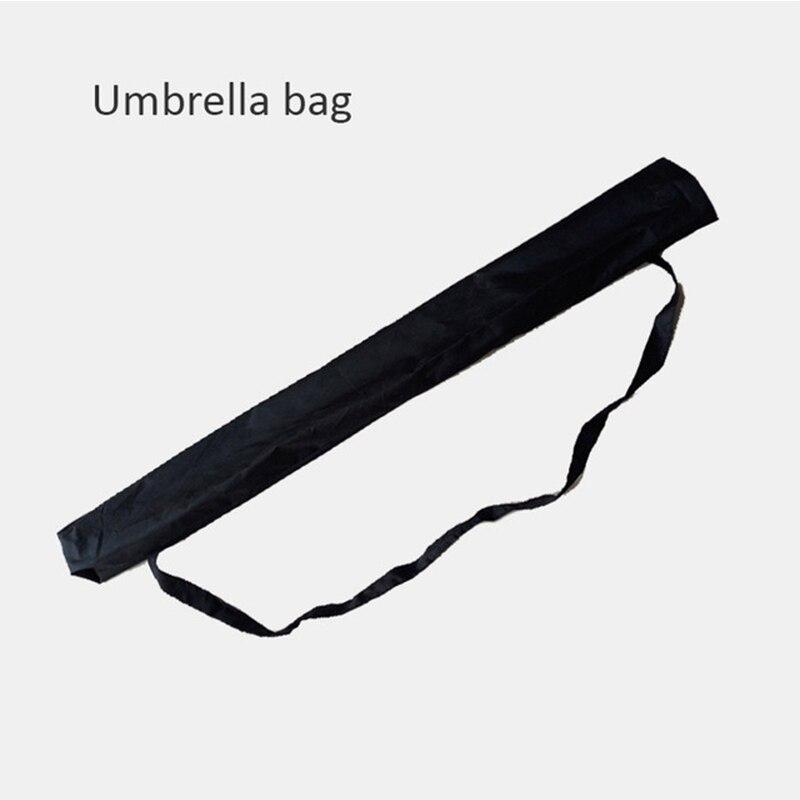 C ручкой ветрозащитный обратный складной зонтик для мужчин и женщин Защита от солнца дождь автомобиль перевернутый Зонты Двойной слой анти УФ Самостоятельная стойка Parapluie - Цвет: umbrella bag