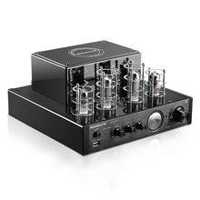 NEW black Nobsound MS-10D MKII Hifi 2.0 tube amplifier USB/Bluetooth amplifier Audio Amplifier 25W*2 TOP sale