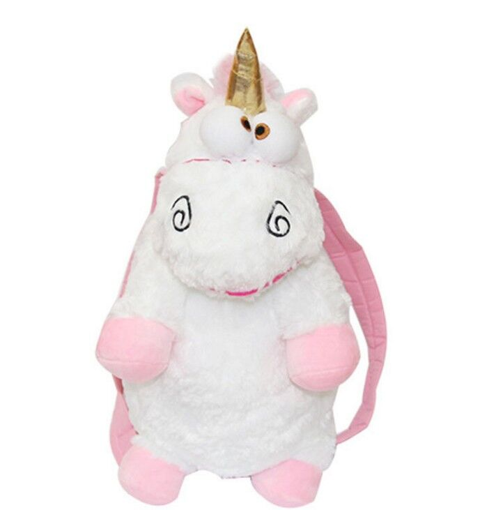 1pc 60cm Despicable Me Fluffy Unicorn Backpack Juguetes Brinquedos Soft Stuffed Plush Toy Christmas Gifts For Kids