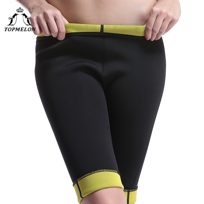 7e1092479858f TOPMELON Neoprene Control Pants Shorts for Lose Weight Slim Shapewear Belly Slimming  Sweat Body Hot Shapers