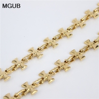 Wholesale Trendy Gold Plated Chain Necklaces Men Gift Gold Plated Chunky Necklaces Pendants Men Jewelry 30210