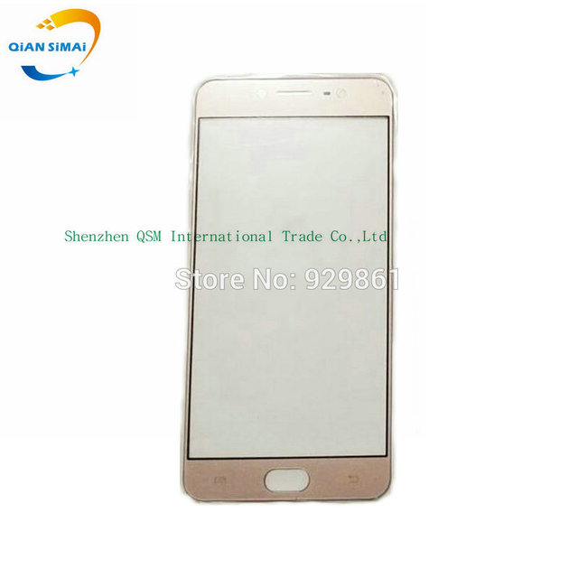 QiAN SiMAi 1PCS New Front Outer Glass Touch Screen (No Digitizer) Lens Repair For BBK Vivo X7 VivoX7 Mobile Phone