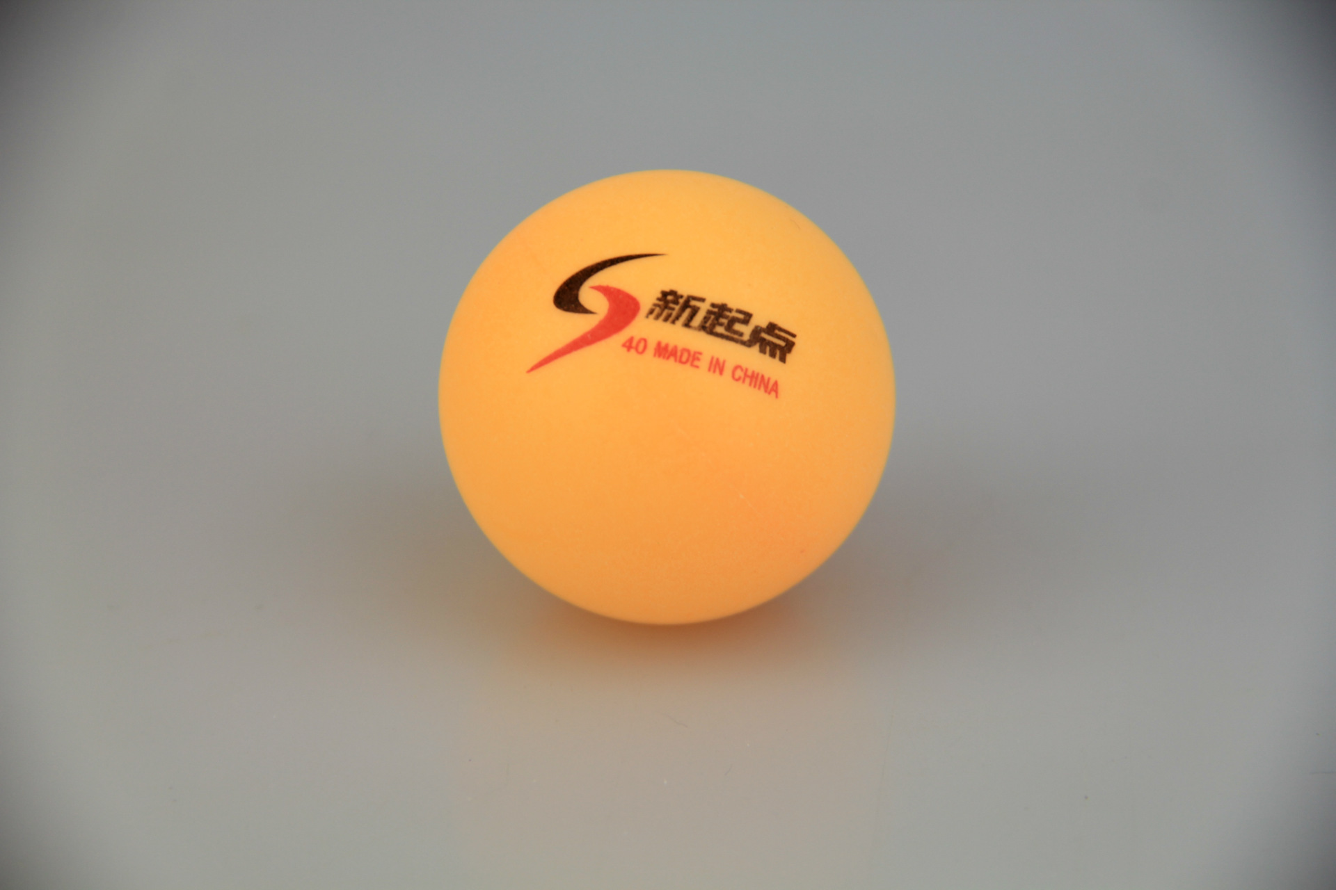 New 10 Pcs Tennis White Ping Pong Balls 4cm Orange Table Tennis Balls