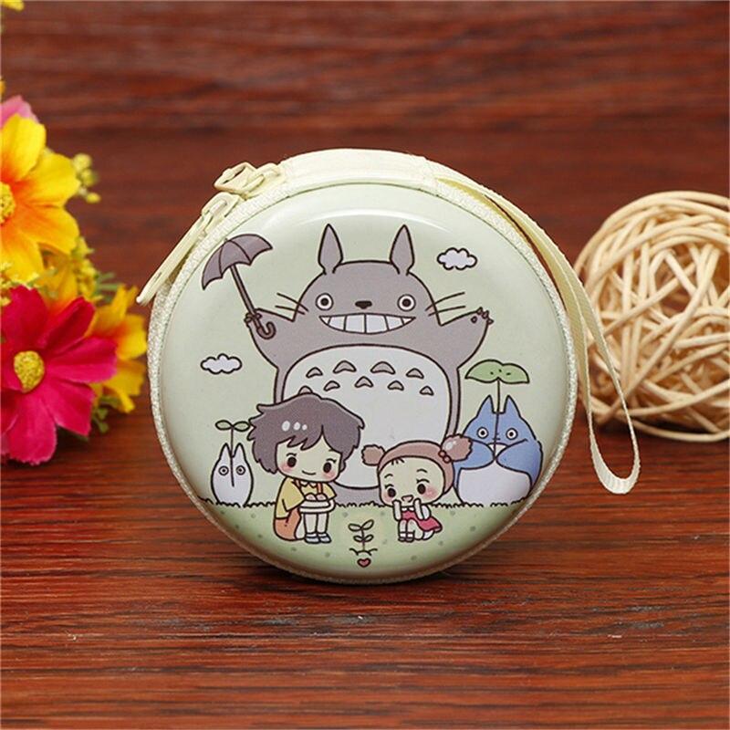 Лидер продаж, кошелек для монет с героями мультфильмов, Эльза, Анна, принцесса, чехол для ключей для девочек, кошелек, детский Снежная королева, гарнитура, сумка для монет - Цвет: Totoro 5