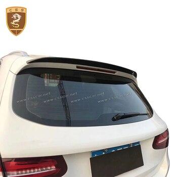 Ala de alerón trasero de fibra de carbono para Benz GLC Kits de cuerpo de carbono modificación automática para Benz coche estilo alerón trasero