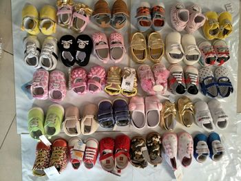 mix style and size  20pairs Baby First Walker Shoes Children Shoes Baby First Shoes