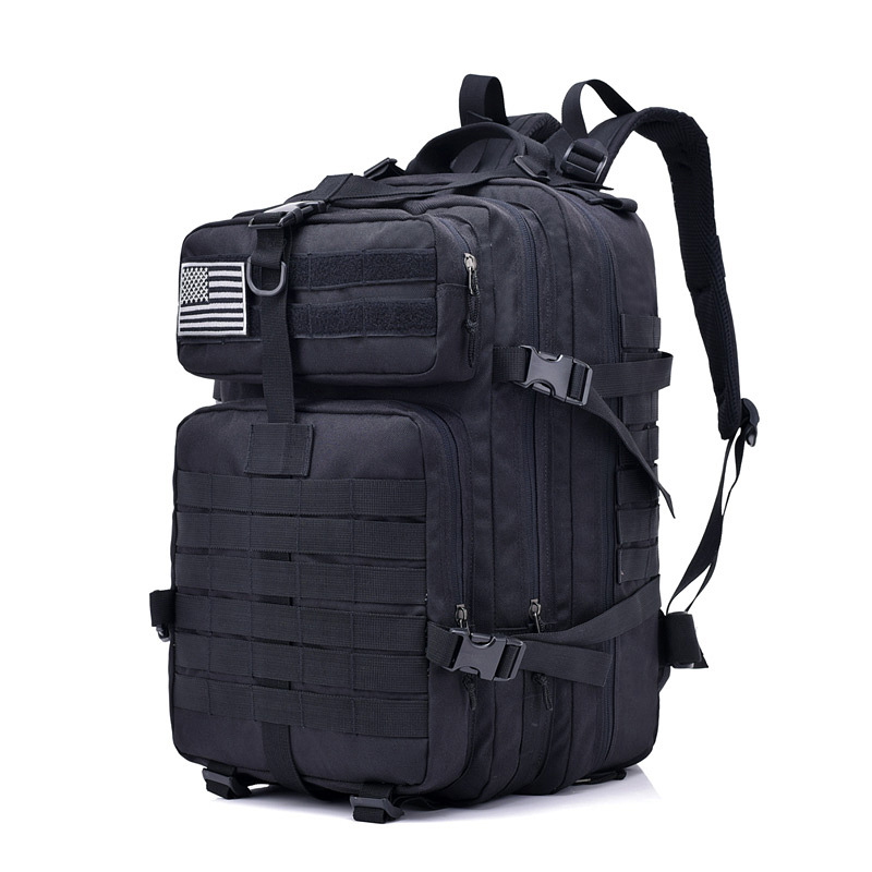 40L Waterproof Oxford Outdoor Sport Military Molle Tactical Travel Bag Mochila Camping Hiking Trekking Backpack Rucksack 900D 40l tactical military backpack molle camouflage travel outdoor sports 3d tactical travel waterproof high quality nylon rucksack