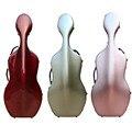 ¡Novedad de 4/4! Estuche de cello de fibra de carbono, estuche de Violonchelo de alta resistencia, Color dorado y rojo, 3,7 kg