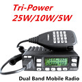 UV-25HX Sister LEIXEN VV-898S Car Radio Dual Band U/V Tri-Power 25W/10W/5W 199CH CTCSS/DCS FM DTMF Scan VOX 1750Hz Mobile Radio