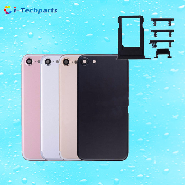 Оригинальный Новый Для iPhone 7 Металла Матовый Корпус Назад Задняя Крышка Батарейного Отсека, 4.7 дюймов