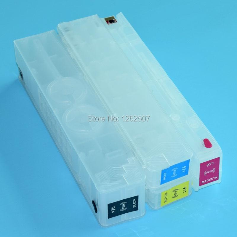 HP970xl HP971xl 970 Nachfülltintenpatrone mit Arc Chip Für HP - Büroelektronik - Foto 4
