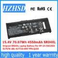 15.4 V 70.07Wh 4550 mAh SR04XL Originale SR04XL Batteria Del Computer Portatile Per HP 15-CE015DX 917678-1B1 917724-855 TPN-Q193