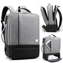 男性のバックパック 15.6 インチアンチ盗難旅行ノートパソコンのバックパック男性ビジネスバッグノートブックバックパック女性usb充電メンズbagpack