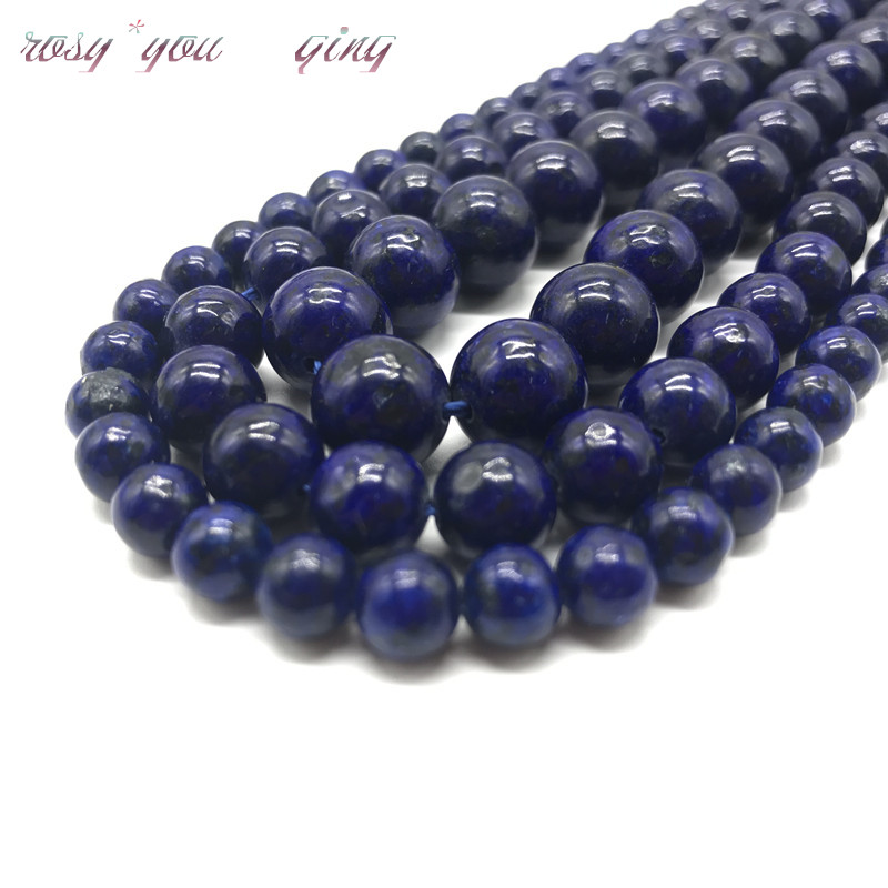 Beads Beads & Jewelry Making Dedicated Wholesale Free Shipping Natural Stone Blue Lapis Lazuli Tiger Eye Agates Round Loose Beads 1 Strand 6 8 10 Mm Pick Size
