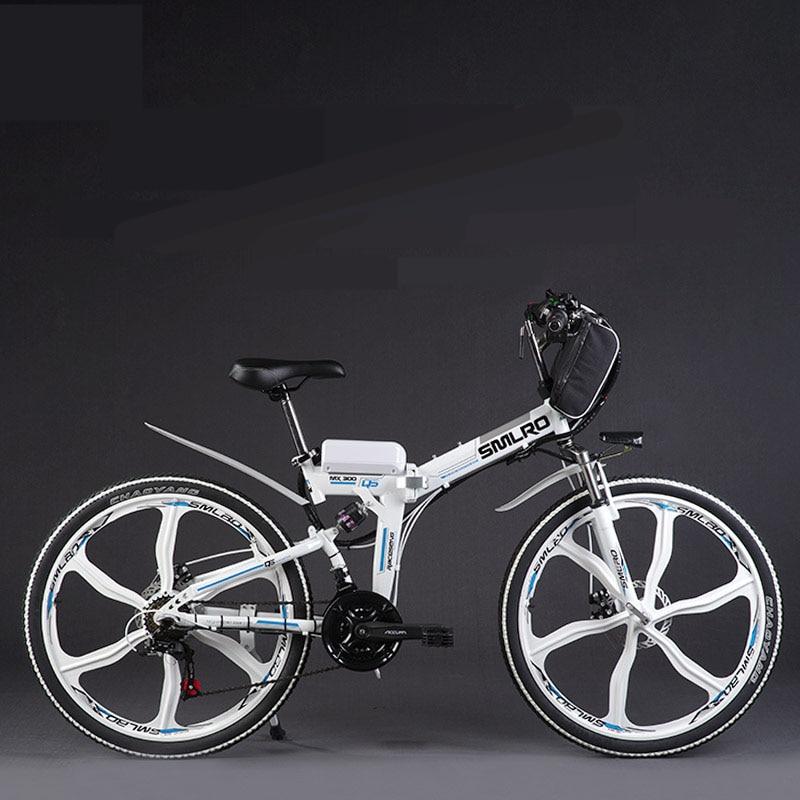 Asli X-Depan merek 21 kecepatan 26 inch 20A 48V 500W Baterai Lithium - Bersepeda - Foto 5