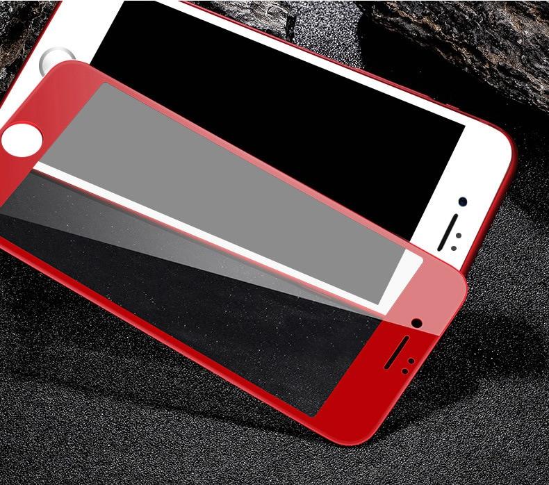 807fd958c3a Película de vidrio templado 3D superficie Pantalla Completa cubierta 4D  frío tallado película de protector de pantalla móvil para IPhone 6 6 P X  película de ...
