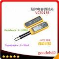 VC6013B RC SMD Inteligente Multímetro Digital Display LCD Medidor de Capacitância Pinças