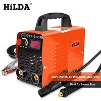 HILDA Arc Welders DC Inverter ARC Welder 220V Welding Machine 200Amp for Home Beginner Lightweight Efficient