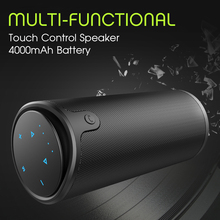 Zealot S8 Touch Control Wireless Bluetooth Sport Speaker HiFi Stereo Portable Subwoofer 4000mAh PowerBank Support 3D TF Card AUX цена и фото