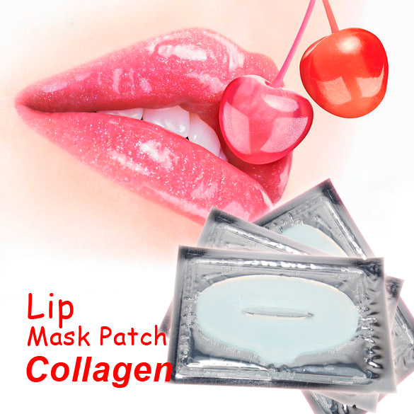 Новинка женщины% 27 коллаген кристалл губа маска пластырь глубокий вода увлажнение против морщин губ подушечки лицо уход