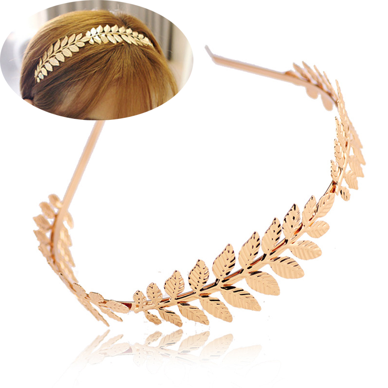 Charm Head Jewelry Women Headband Fashion Rhinestone Wedding Jewelry Sweet Wild