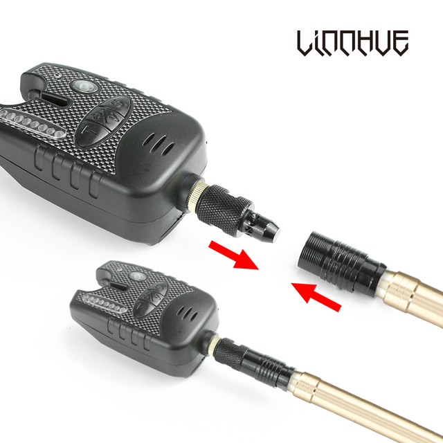 Quick Release Adapter Connector Bite Alarm Rod Holder 4pcs
