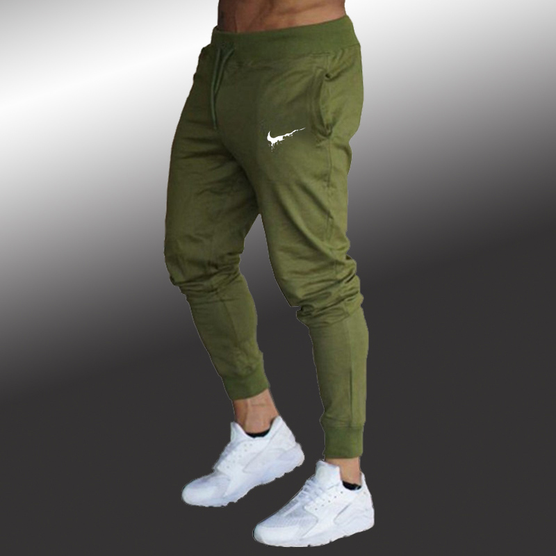 Jogging Pants Men Running Pants Men Fitness Gym Sweatpants Swearing Sport Trousers Mens Football Soccer Sport Training Pants Men