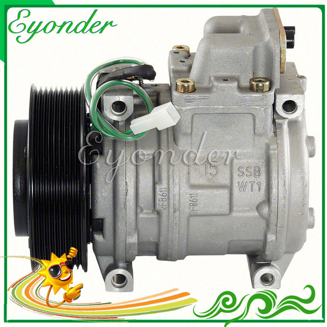 US $105 0 |10PA15C AC A/C Compressor Cooling Pump 24V PV9 for MERCEDES BENZ  ACTROS Diesel MP1 MP2 MP3 5412301011 A5412301011 5412300111-in Fans & Kits