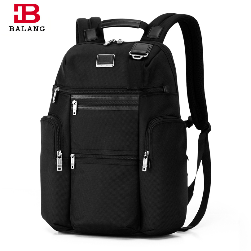 BALANG Brand 2018 Men's Notebook Backpack Male Casual Shoulder luggage Popular School Bags for Girls Boys Waterproof Travel Bags 14 15 15 6 inch flax linen laptop notebook backpack bags case school backpack for travel shopping climbing men women