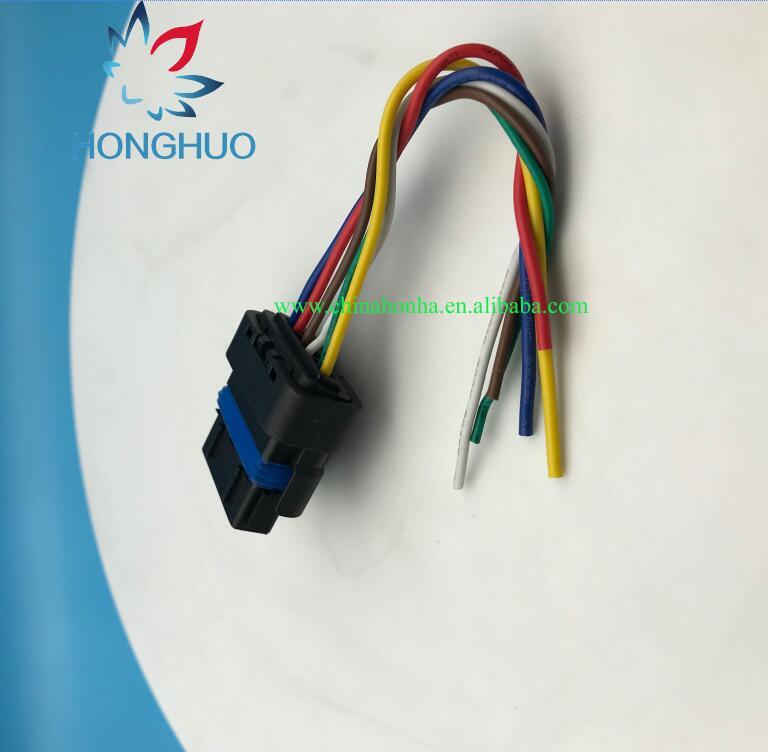 free shipping 2 5 10 20 sets fci 6 pins air flow throttle waterproof rh aliexpress com 10 Pin Wiring Harness 10 Pin Wiring Harness